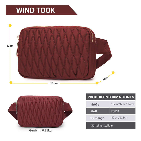 Wind Took Waist Bag Pockets Travel Hiking Outdoor Sport Holiday - handmade items, shopping , gifts, souvenir