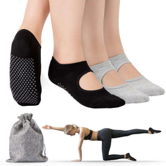 Non Slip Pilates Yoga Socks for Women Ideal for Fitness