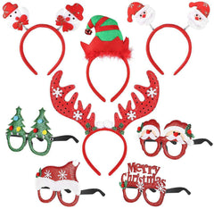 Christmas Headbands Sunglasses