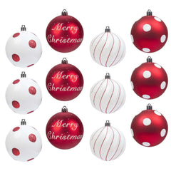 Christmas Baubles 12pcs