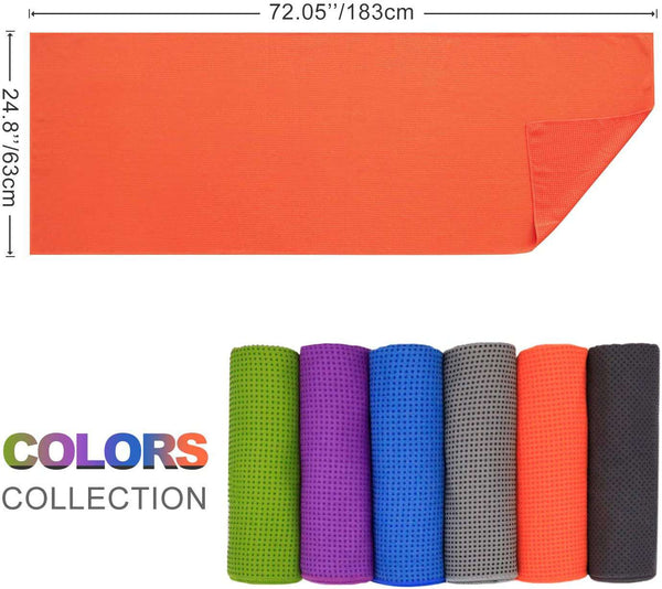 Yoga Towel Microfiber Non Slip and Quick Dry for Hot Yoga