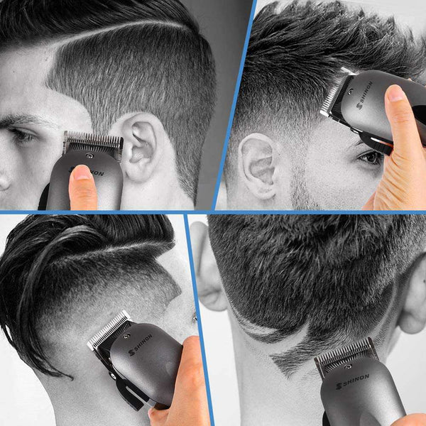 Hair Clipper Set Electric Hair Trimmer Razor Rechargeable Mens Grooming Kit - handmade items, shopping , gifts, souvenir