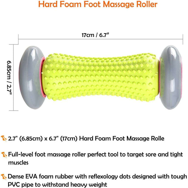 Foot Massage Roller Muscle Roller Stick for Plantar Fasciitis Recovery and Tight Muscles Relax - handmade items, shopping , gifts, souvenir