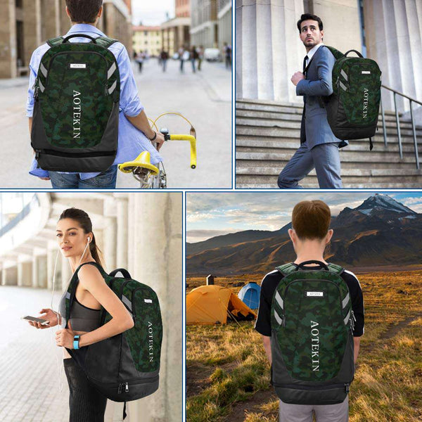 Outdoor Sports Backpack Lightweight Water Resistant