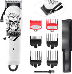 Hair Clippers for Men Cordless Hair Trimmer Beard Trimmer Haircut Grooming Kit