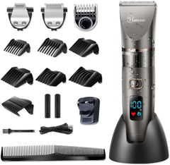 3 in 1 Waterproof Cordless Hair Cutting Kit for Men and Family Use