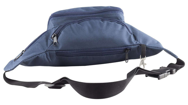 Zipped Pocket Blue Bum Waist Bag Travel - handmade items, shopping , gifts, souvenir