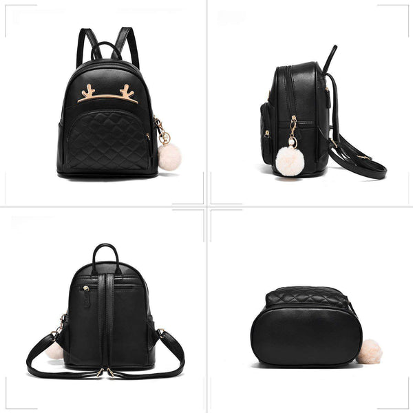 Women Backpack PU Leather Rucksack - handmade items, shopping , gifts, souvenir