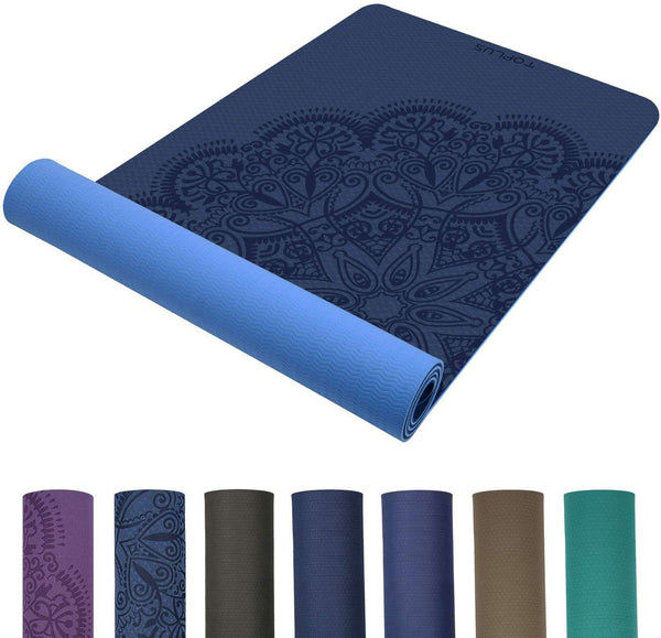 Classic Pro Fitness Mat TPE Eco Friendly Non Slip Exercise Mat