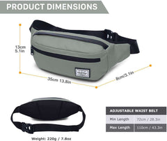 Wind Took Waist Bag Pockets Travel Hiking Outdoor Sport Holiday