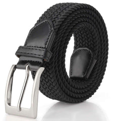 Elastic Braided Belt for Jeans, Trouser