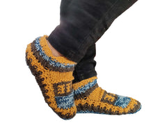Winter Warm Indoor Slipper Wool Socks