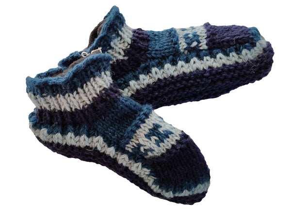 Sherpa Indoor Slipper Woolen Socks  Winter Warm Socks - handmade items, shopping , gifts, souvenir
