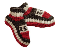Sherpa Indoor Slipper Woolen Socks - Alexis