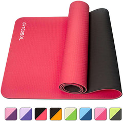 Non-Slip 6mm Thick Large Exercise Mat