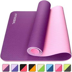 Non-Slip 6mm Thick Large Yoga Mat
