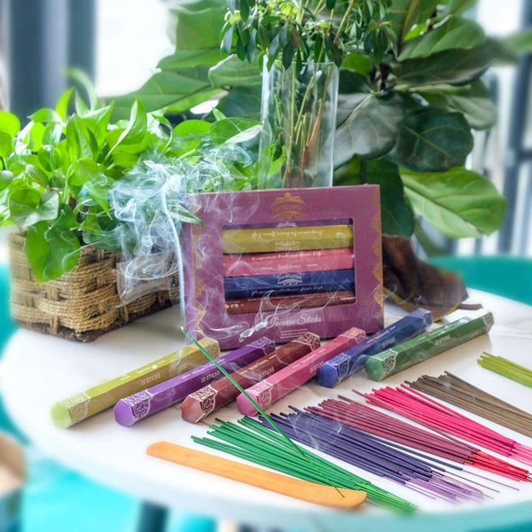 Incense Sticks 120 Sticks Set of 6 Perfect for Yoga Aromatherapy Relaxation Meditation - handmade items, shopping , gifts, souvenir