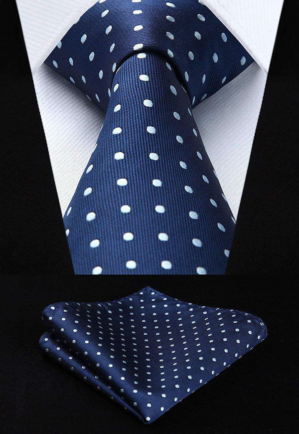 3 PCS Men's Tie Check Polka Dot Stripe Solid Color - handmade items, shopping , gifts, souvenir