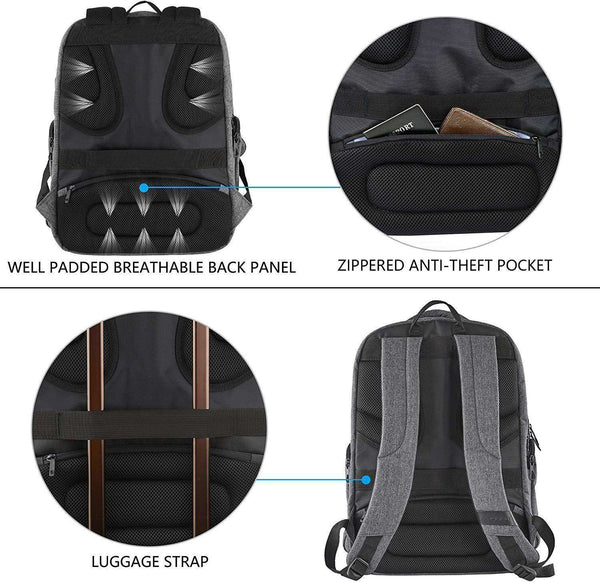 Travel Laptop Backpack 17.3 Inch