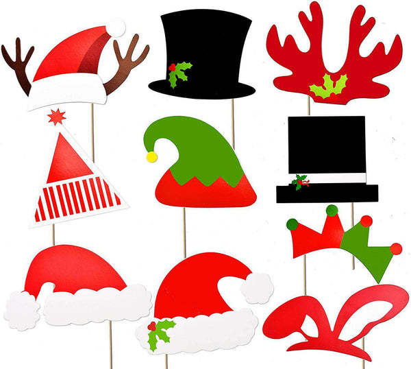Christmas Photo Booth Props - handmade items, shopping , gifts, souvenir