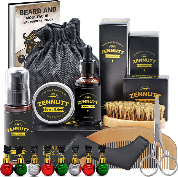 Beard Care Kit for Men - handmade items, shopping , gifts, souvenir