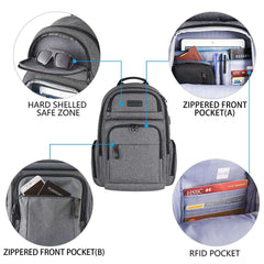 Travel Laptop Backpack Stylish 15.6 Inch Computer Backpack Anti Theft
