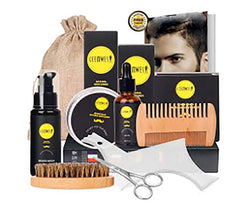 Beard Care Kit for Men Beard Care Growth Grooming Kit