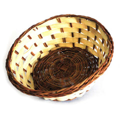 Village Baskets - Bamboo & Awn - Round 19cm