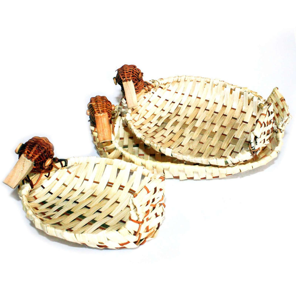 Village Baskets - Set of 3 Duck Baskets - Pasal