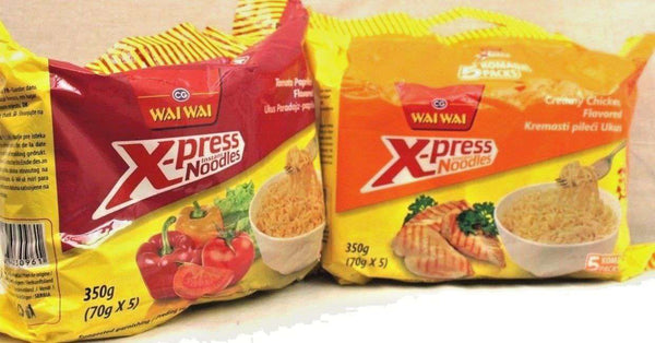 Wai Wai Xpress Instant Noodles - handmade items, shopping , gifts, souvenir