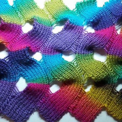 "xy Strickanleitung * Stola ""Carnaby Street"""