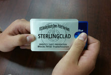 10 RfID Blocking Credit Card Sleeves with TipTable - Stop Radio Frequency ID Thieves in Their Tracks - STERLINGCLAD