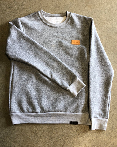 Classic Patch Marled Crewneck