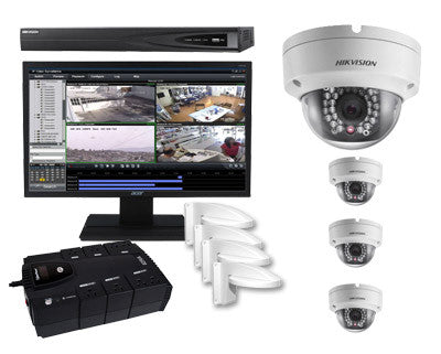 4 Camera Security Package Indoor - Outdoor