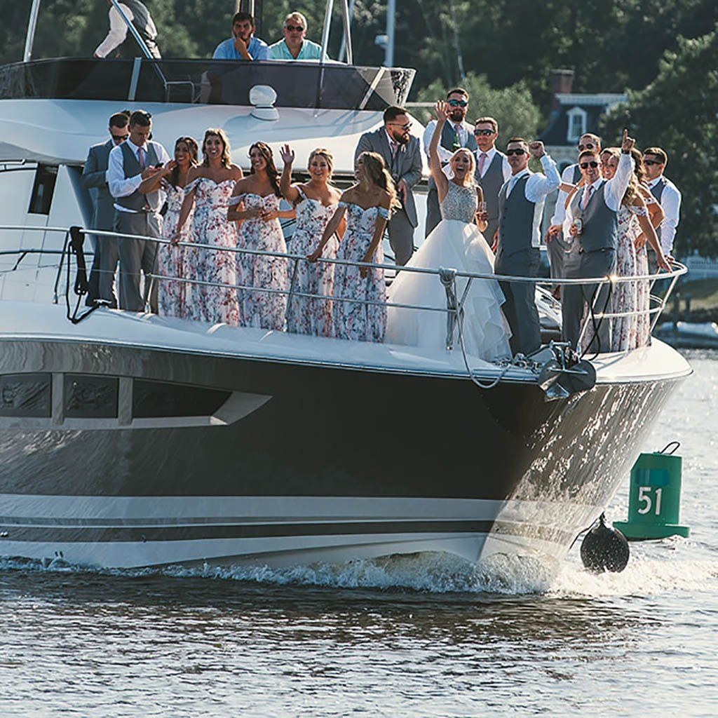 Knotty Weddings In, On And Near The Water