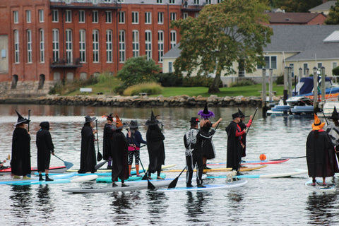the witch paddle in Mystic