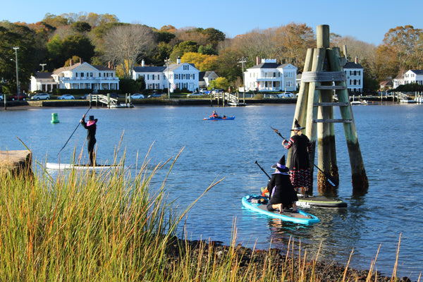 Mystic CT witch paddle