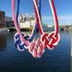 Heart Knot necklace mystic knotwork