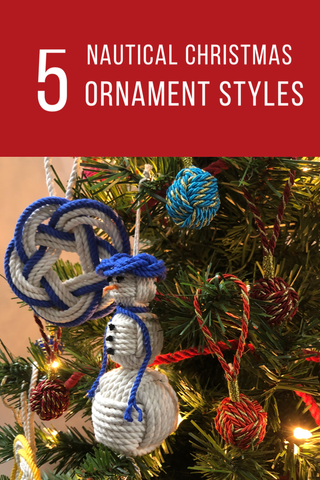 snowman, metallic balls and coaster wreath ornaments on the Christmas tree