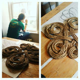 Instagram Picture - Rachael Developing a Knot