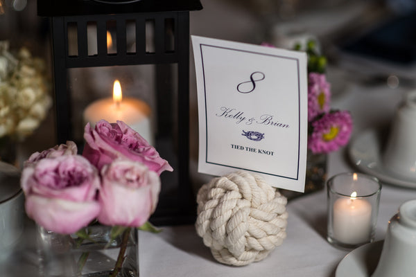 Nautical Table Number - Jennifer Bach Photography - Latitude 41 at the Mystic Seaport