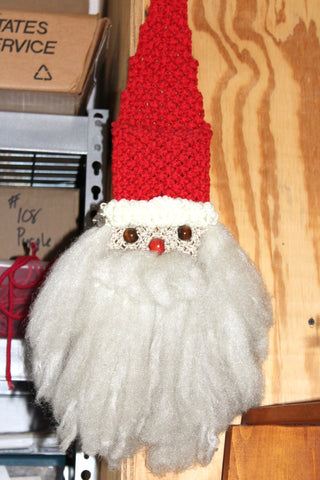 Nautical Macrame Knotted Snowman