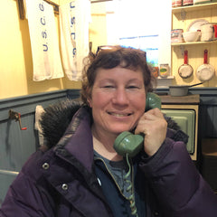 Maine Maritime Museum Jill makes the call in Bath Maine