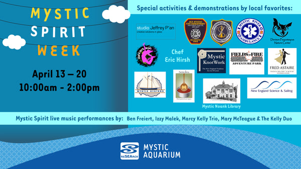 Mystic Aquarium sponsors including Mystic Knotwork