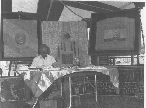 Mystic Knotwork Alton Beaudoin at the Mystic Arts Display in 1957