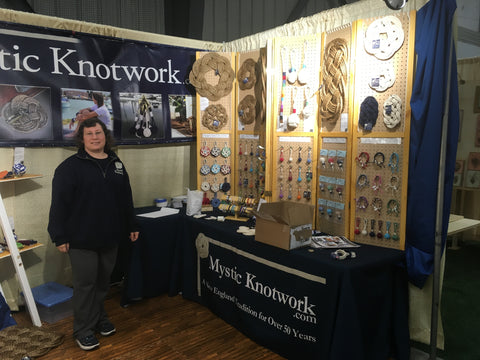 Mystic Knotwork Wholesale Show booth