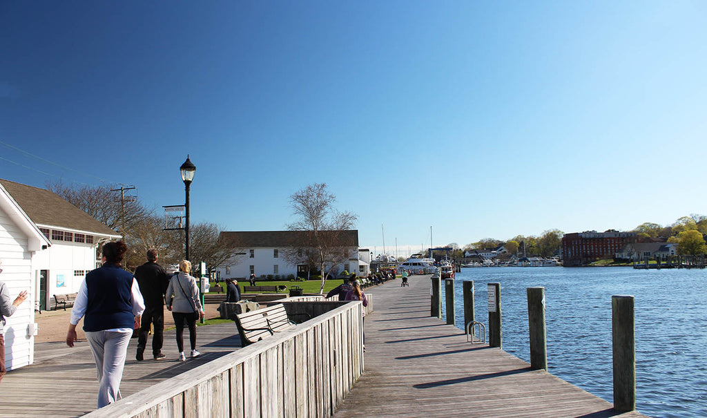Mystic River Park Dock