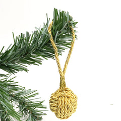 Monkey fist ornament by Mystic Knotwork