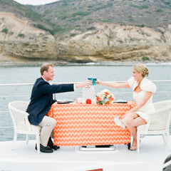 Nautical Wedding on a Catamaran in San Diego