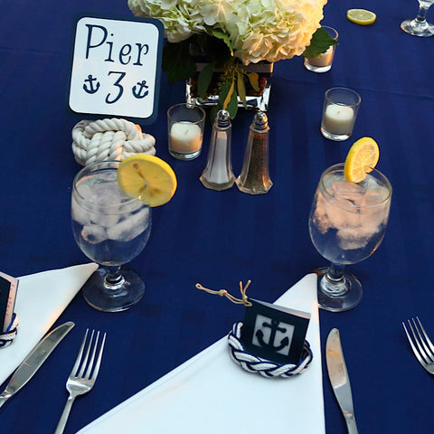 Nautical Reception Table